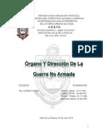 Organismos de Dirección Territorial de La Defensa Integral de La Nación