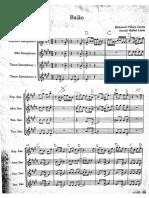 Baião - Para quarteto de saxofones