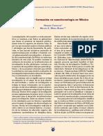Nanotecnología en Mexico