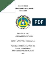 MINI PAPER_AFITRAH RESKI(17059039).docx