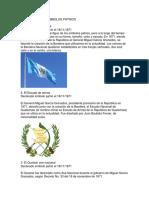 HISTORIA DE LOS SIMBOLOS