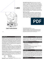 Manual Inno beam led
