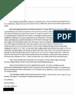 Ford Letter to Feinstein