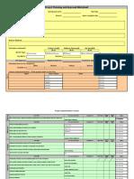 PI Project Workbook