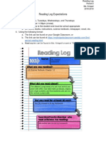 reading log expecations