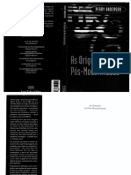 ANDERSON (1999) - As Origens Da Pós-modernidade