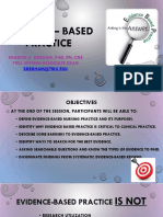 Evidence – Based Practice_Presentation _SD_modified