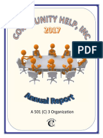 Community Help, Inc. 2017 Annual Report