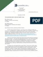 Deborah Ramirez letter to Senate Judiciary Committee