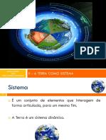 A Terra Como Sistema