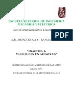 Practica 1 - Electro