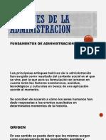 4.- Enfoques de La Administracion