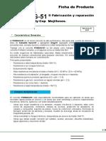 Ficha Tecnica FONDAG, Fabricación y Reparación Bobinas Moly-Cop