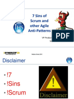 7 Sins of Scrum Webinar Synerzip