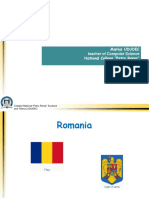 Prezentare Romania Bucovina CNPR Marius UDUDEC