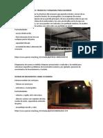 Caracteristicas de Diseño Para Teatro