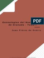 Genealogias Del Nuevo Reino de Granada - Tomo I