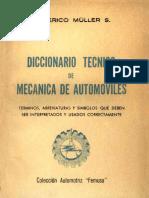 Aqui Diccionario Tecnico de Automoviles PDF
