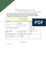 Ecuaciones separables (1)