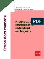 Propiedad intelectual e industrial en Nigeria