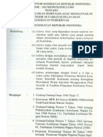 Permenkes 085 Thn 1989 Kewajiban Penullisan Resep Obat Generik Di Yankes Pemerintah