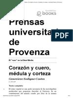 Sodigne El _cuer_ en La Edad Media - El Corazón y El Cuero, La Médula y La Corteza - University Presses of Provence