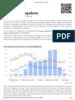 Climate Bengaluru - Meteoblue