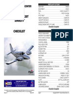 Pa 34 Checklist