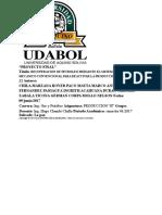 Recuperacion de Petroleo Mediante El Sistema de Bombeo Mecanico Convencional Para Reactivar La Produccion Del Pozo Cmt