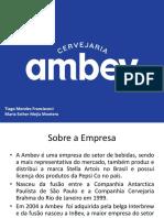 Contabilidade AMBEV