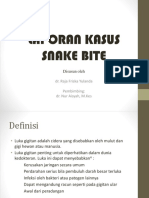 Ppt Lapkas 2 Snake Bite