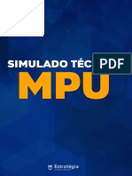 Simulado MPU - Estratégia