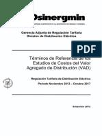 Términos Estudio VAD 2013-2017