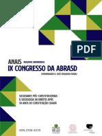 Anais Resumos Expandidos IX ABraSD