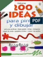 200 Ideas para Dibujar y Pintar.pdf