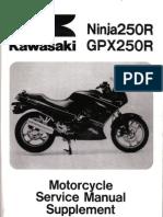 Kawasaki Ninja 250 Manual | Mechanical Engineering | Machines