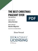 Christmas Pagent