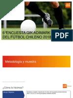 Encuesta Gfk Adimark Del Fútbol 2018 Vf
