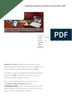 Tutorial Instalación de Sistema Operativo Desde Una Memoria USB