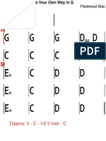 Go Your Own Way in G.pdf