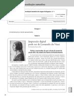 1º Teste Português Paratextos 7º Ano Com Soluções