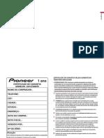 Manual Pioneer AVH-Z5080TV