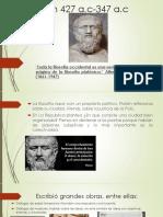 Platón 427 A
