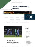 Prediksi Bola Terpercaya Alaves vs Getafe 28 September 2018