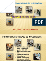Formato de Redacción de proyecto de investigación UNH