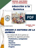 Historia, Clasificacion y Propiedades de La Quimica