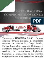 Presentación de HAGEMSA (Junio)