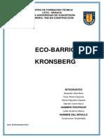 Eco Barrio Kronsberg, Hannover (Alemania)
