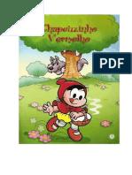 Livro Da Chapeuzinho Vermelho Da Magali