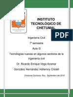 Tecnologías en la ing. civil